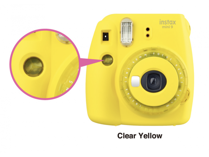 Fujifilm Instax Mini 9 Limited Edition Clear Yellow