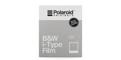 Polaroid i-Type Film Sort/Hvid