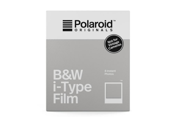 Polaroid Originals Sort/Hvid i-Type Film