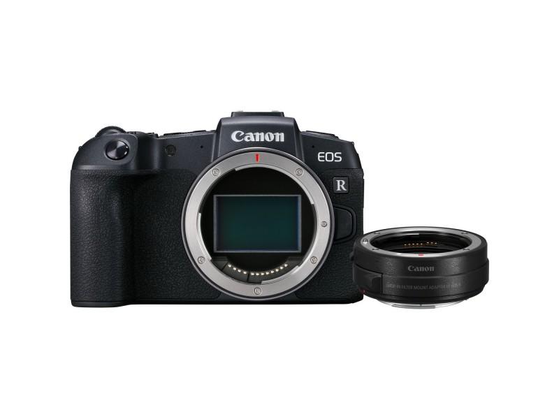 Canon EOS RP Hus + EF-EOS R Adapter