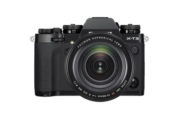 Fujifilm X-T3 Kit XF16-80mm f/4 R Sort
