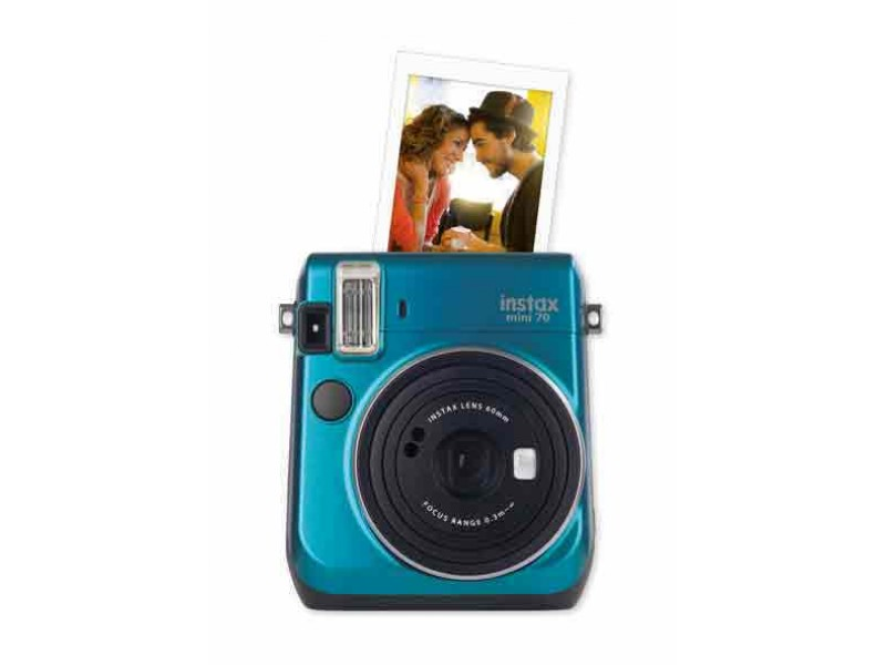 Fujifilm Instax Mini 70 Island Blue Inkl. Taske