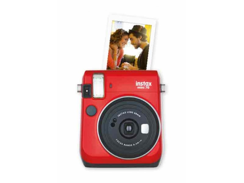 Fujifilm Instax Mini 70 Passion Red Inkl. Taske