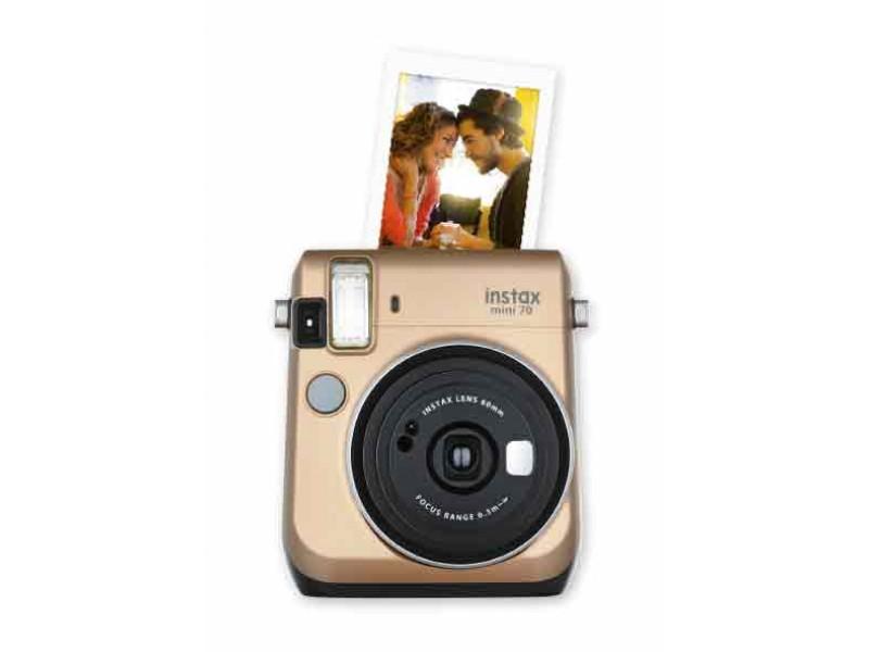 Fujifilm Instax Mini 70 Stardust Gold Inkl. Taske
