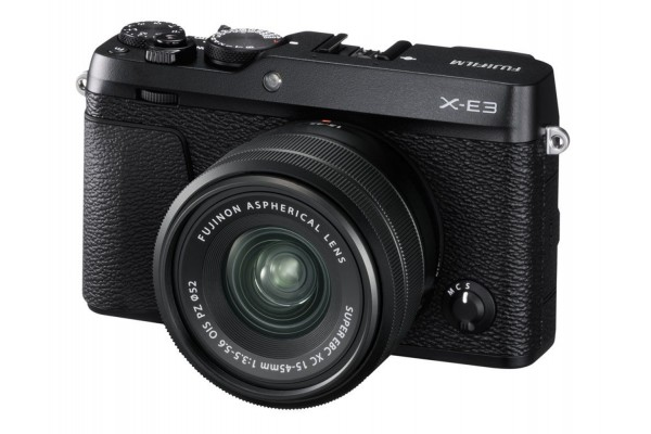 Fujifilm X-E3 Kit XC15-45mm OIS PZ Sort
