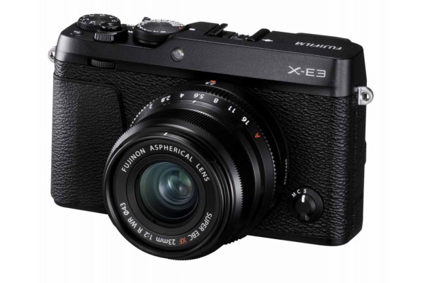 Fujifilm X-E3 Kit XF 23mm f/2.0 R WR Sort