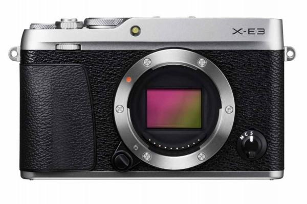 Fujifilm X-E3 Kamerahus Sølv *Cashback 750kr*