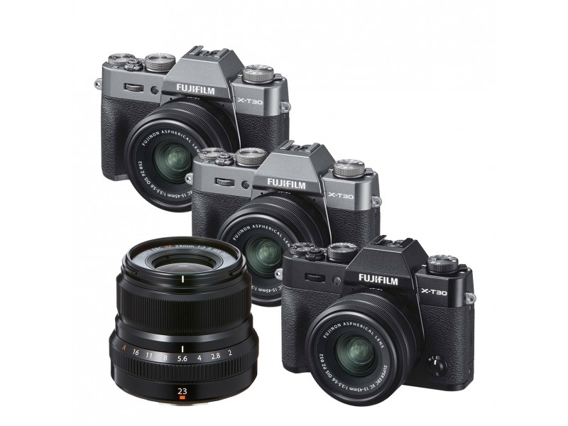 Fujifilm X-T30 Kit XC15-45mm OIS PZ + XF 23mm f/2
