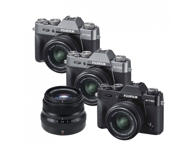 Fujifilm X-T30 Kit XC15-45mm OIS PZ + XF 35mm f/2