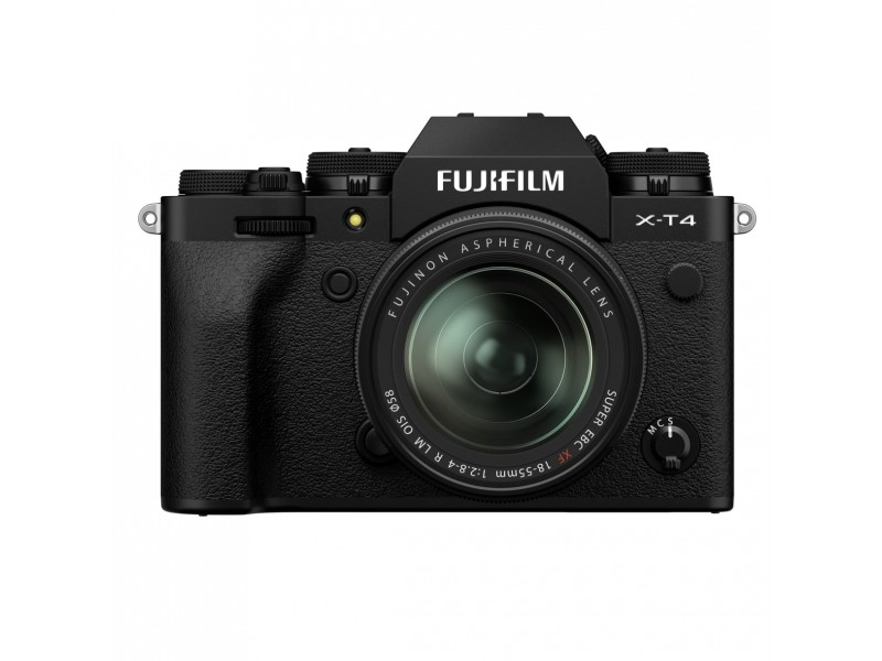 Fujifilm X-T4 + 18-55mm Kit Sort