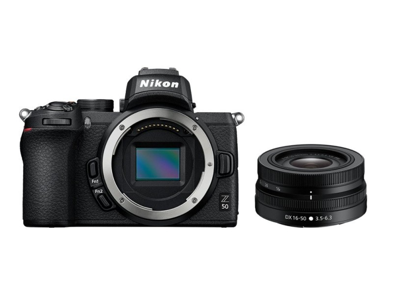 Nikon Z50 + 16-50mm f/3,5-6,3 + FTZ Kit