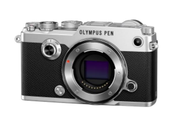 Olympus PEN-F Pancake Zoom Kit Sølv/Sort
