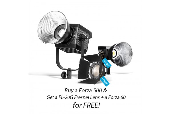 Nanlite Forza 500 + Forza 60 & FL-20G Fresnellinse Kit