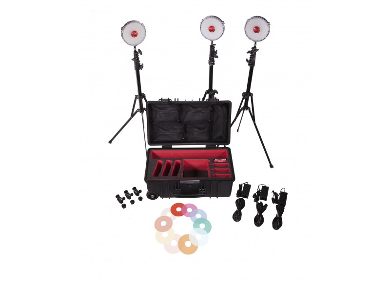 Rotolight Neo 2 - 3 Light Kit *Udstilling*