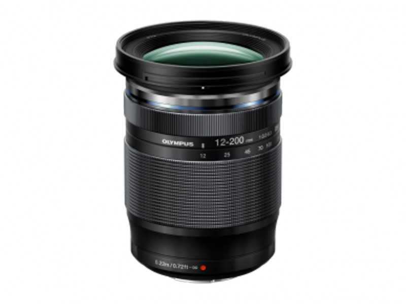 Olympus M.ZUIKO DIGITAL ED 12-200mm f/3.5-6.3 Sort *CASHBACK 1125,-*