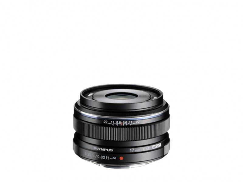 Olympus M.ZUIKO DIGITAL 17mm f/1.8 Sort *CASHBACK 550,-*