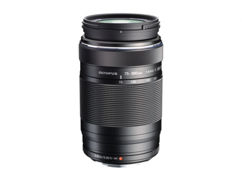 Olympus M.ZUIKO DIGITAL ED 75-300mm 1:4.8-6.7 II Sort *CASHBACK 550,-*