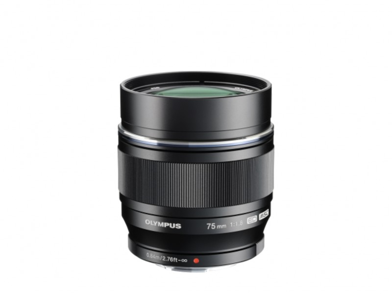 Olympus M.ZUIKO DIGITAL ED 75mm f/1.8 Sort *CASHBACK 1125,-*