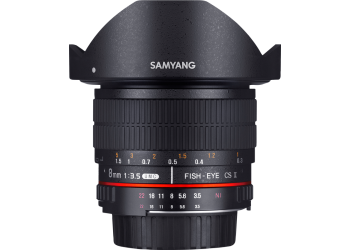 Samyang 8mm f/3.5 UMC Fish-Eye CS II Fuji X