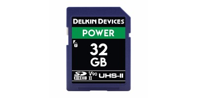 Delkin SD UHS-II Cinema 32GB