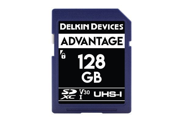 Delkin SD Advantage UHS-I U3 (V30) 128GB