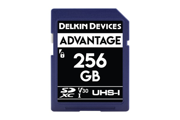 Delkin SD Advantage UHS-I U3 (V30) 256GB