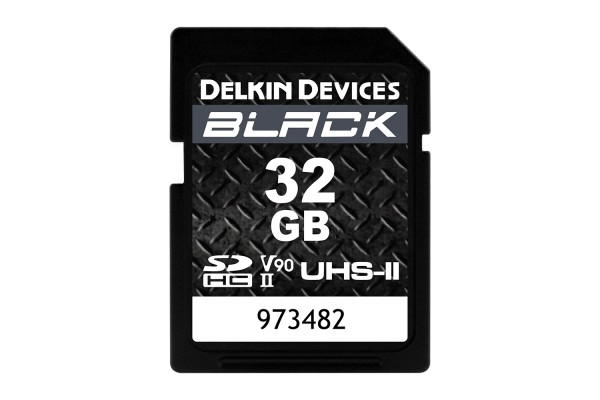Delkin SD Black Rugged UHS-II V90 32gb