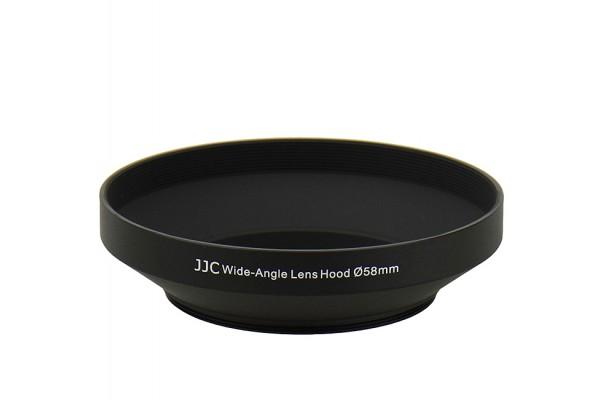 JJC Wide-angle Lens Hood Ø58mm