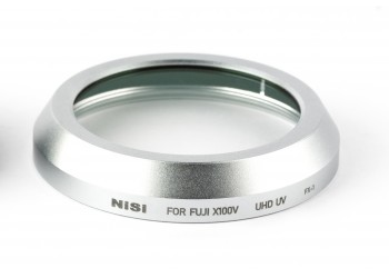 NiSi Filter UHD UV til Fujifilm X100V Sølv