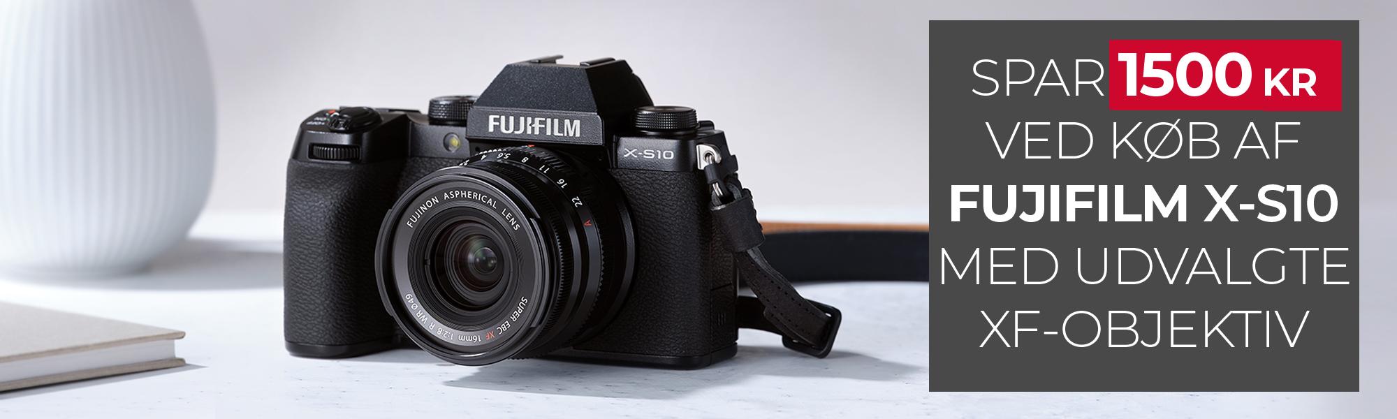 Fujifilm Kampagne Fujifilm X-S10 Kamerahus