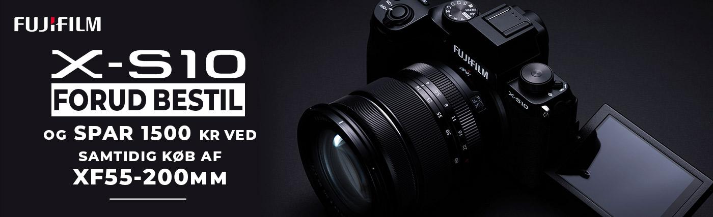 Fujifilm X-S10 forudbestilling